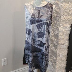 St-martens fuji style sleeveless dress